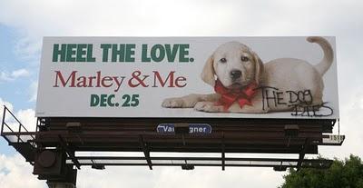 Funny vandalised billboards