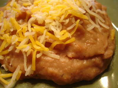 My Sister's Kitchen: Refried Beans without the refry