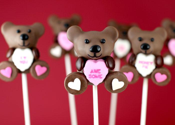 Cake Pop Designs Valentines Day : Valentine s Day Cake Pops La Vie Si Dous Home Decor