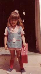Infância: Minha 1º escola.