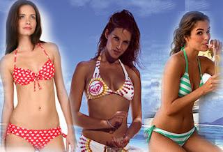 bikini för småbystade överdel