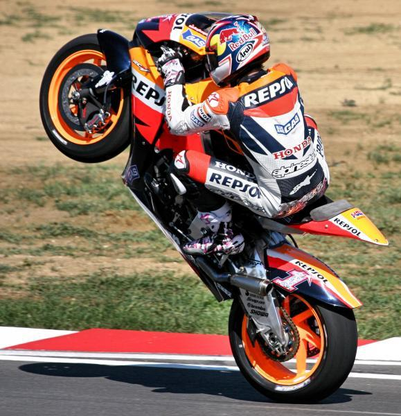 MotorSports: MotoGP Victory For Dani Pedrosa In Germany