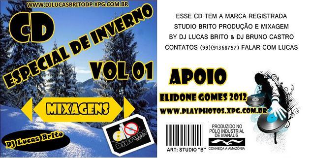 CD ESP. DE INVERNO MIXAGEM BY DJ LUCAS BRITO E DJ BRUNO CASTRO....