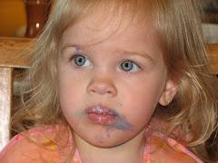 Birfday cake face