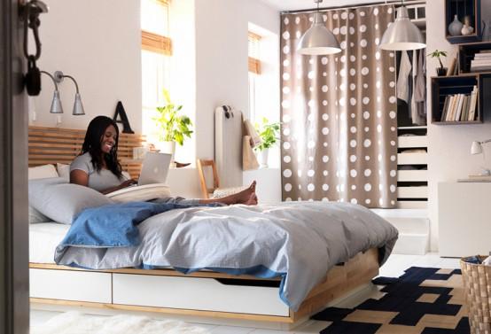 Quartos decorados IKEA ~ Decoração e Ideias  casa e jardim