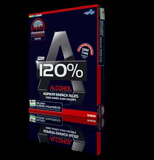 Alcohol 120% Black & Bloody Edition Version 4.0 Multilenguaje Box.Alcohol.120