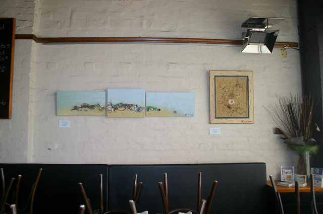 More works at Cafe Fidama