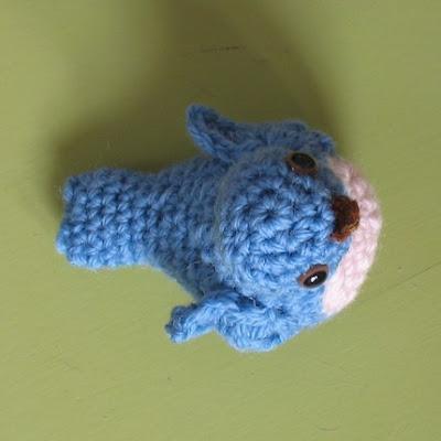 Crochet Bird Wings