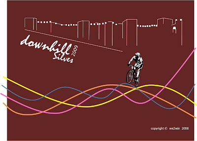capa projecto down hill para 2009 da we2win apresentado em 28 Maio 2008