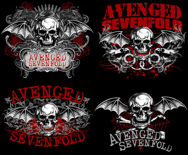 avenged sevenfold logo. avenged sevenfold wallpapers