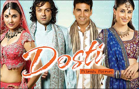 Watch Online Free Bollywood Hollywood Movies Dosti – Friends