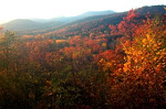 View From The blue Ridge Chalet