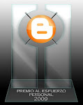 Premio al esfuerzo personal 2009