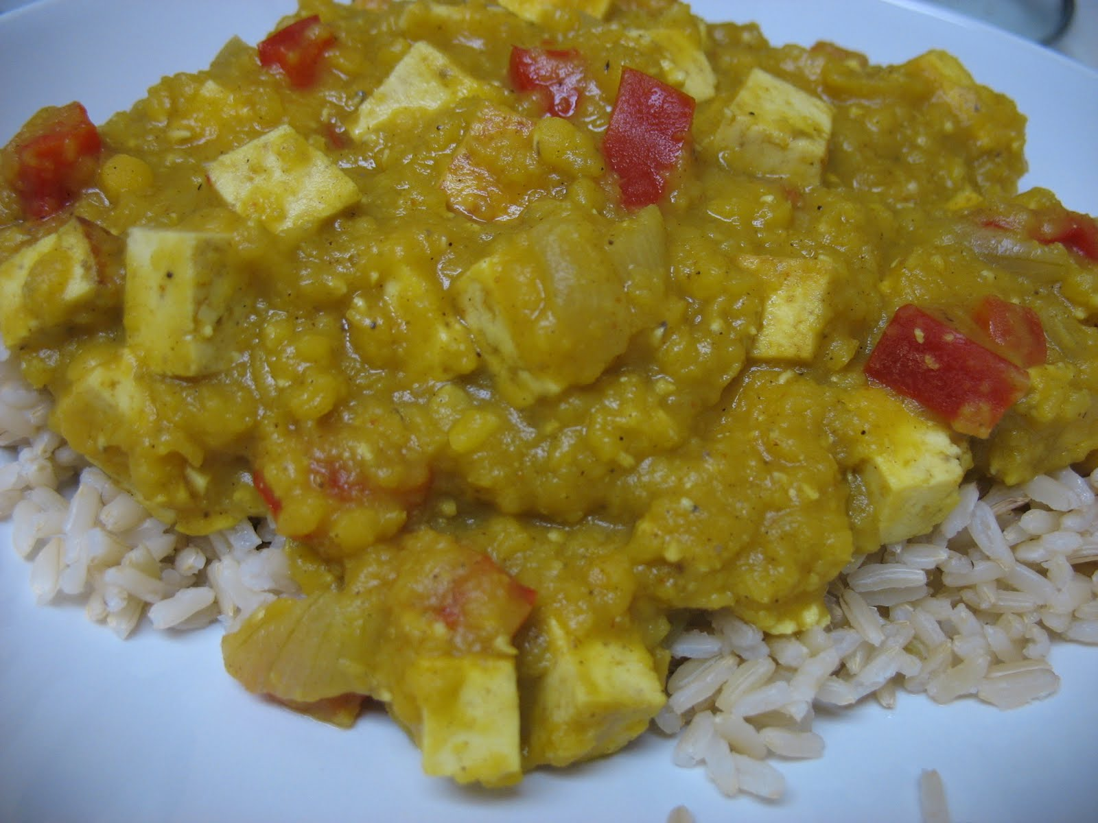 The MKE Table: Red Lentil and Tofu Curry