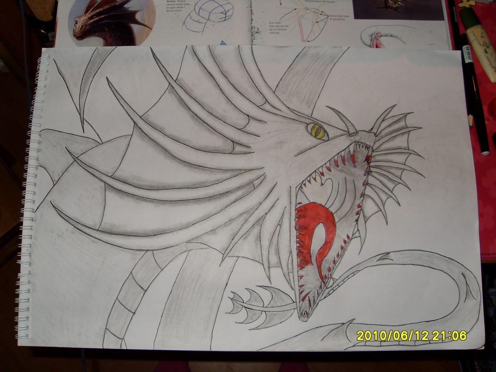 lär dig rita drakar