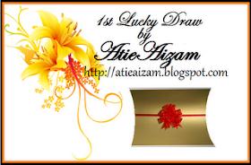 1st Lucky Draw by Atie Aizam