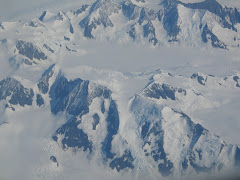 Greenland view from the airplane August 2006