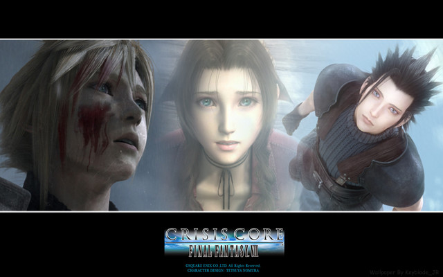 crisis core wallpapers. final fantasy crisis core