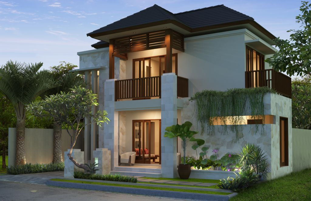 Ragam inspirasi Desain Rumah 2 Lantai Luas Tanah 150 M2 2015 yg indah