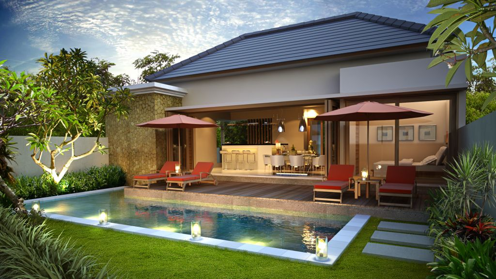 Desain Villa Bangun Rumah Type 85 Interior Minimalis