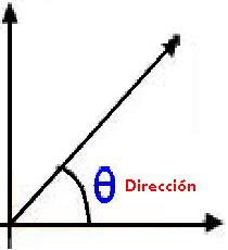 Direcciçon de un Vector