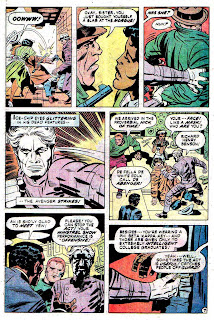Justice Inc. v1 #2 dc bronze age comic book page art by Jack Kirby