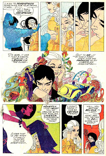 Our Love Story v1 #5 - Jim Steranko marvel bronze age romance comic book page art