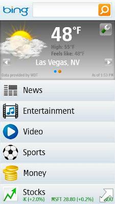 bing app on silverlight