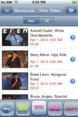 SPB TV app iPhone