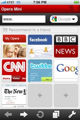 opera iphone app