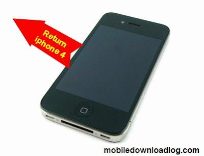 iphone 4 return