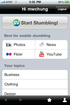 stumbleupon app.JPG