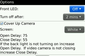 flashlight app for BlackBerry