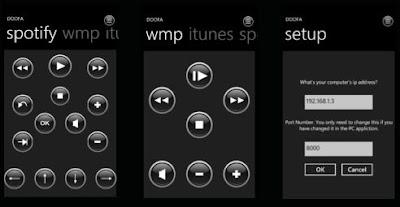 Doofa wp7 app
