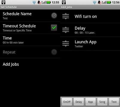 run it android app