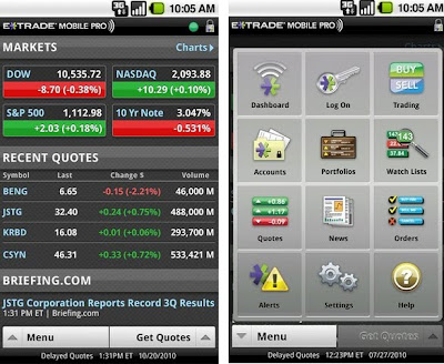 e trade mobile pro android free app