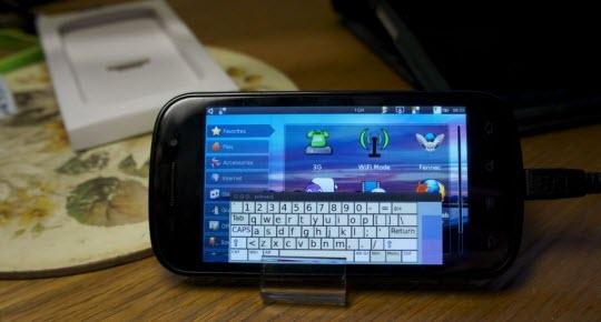 Ubuntu on Google Nexus S