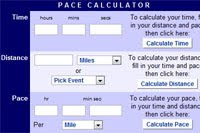 Pace Calculator