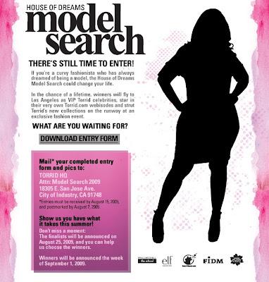 Torrid house of dreams model search