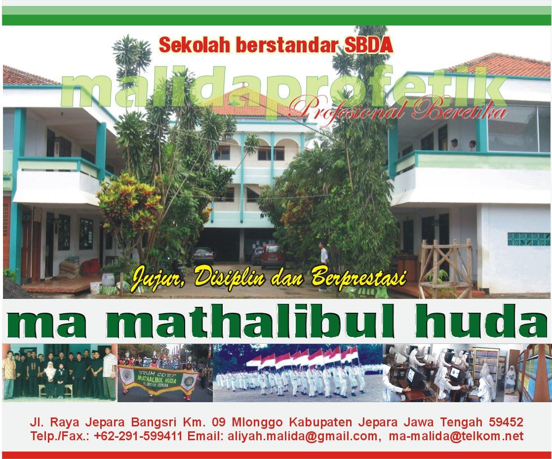 Wellcome To PORTAL MA MATHALIBUL HUDA Mlonggo - mamalid PROFETIK Jujur