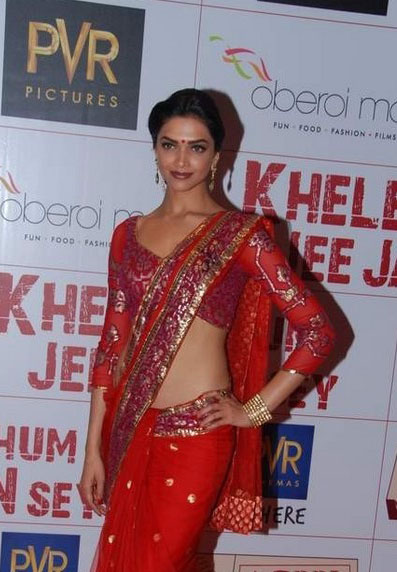 deepika padukone at khjjs premiere actress pics