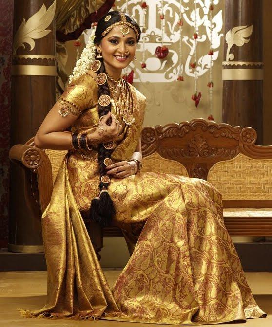 anuska in chennai silks ad glamour  images