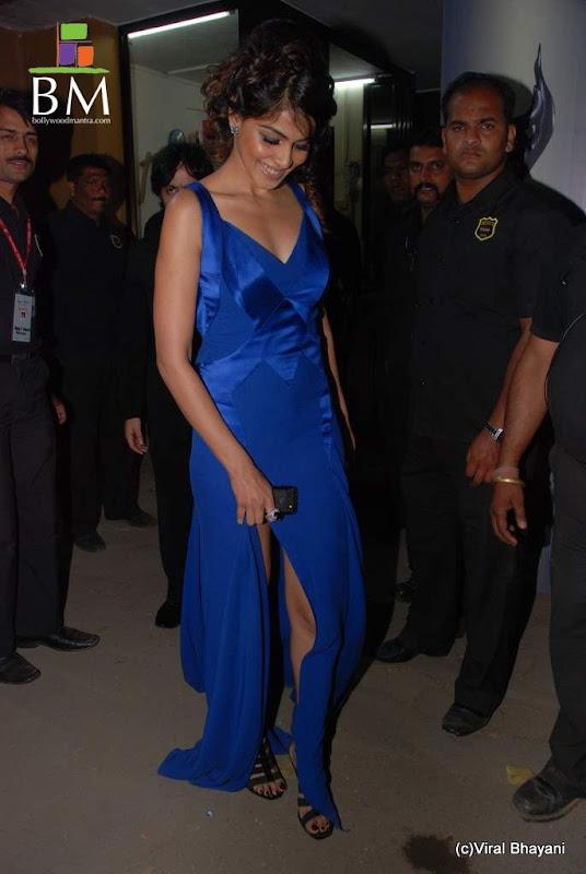 Photos Genelia at th Idea Filmfare Awards photos navel show