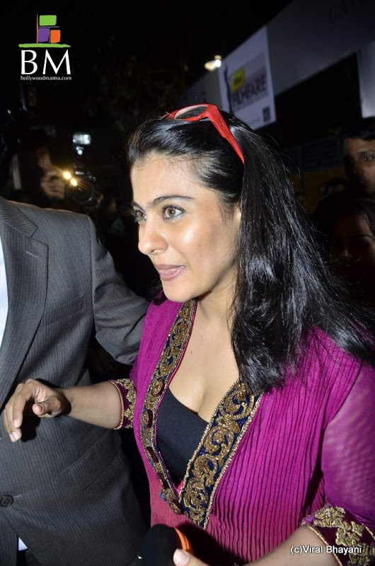 Kajol at th Idea Filmfare Awards photos gallery pictures