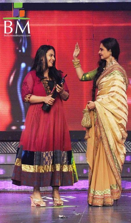 Kajol at th Idea Filmfare Awards photos unseen pics