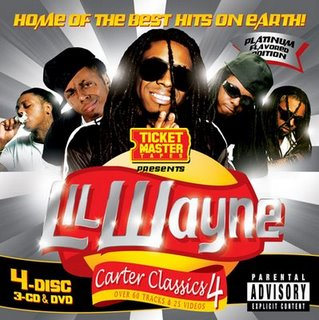 Ticketmaster Tapes Presents Lil Wayne - Carter Classics 4 (3CD)