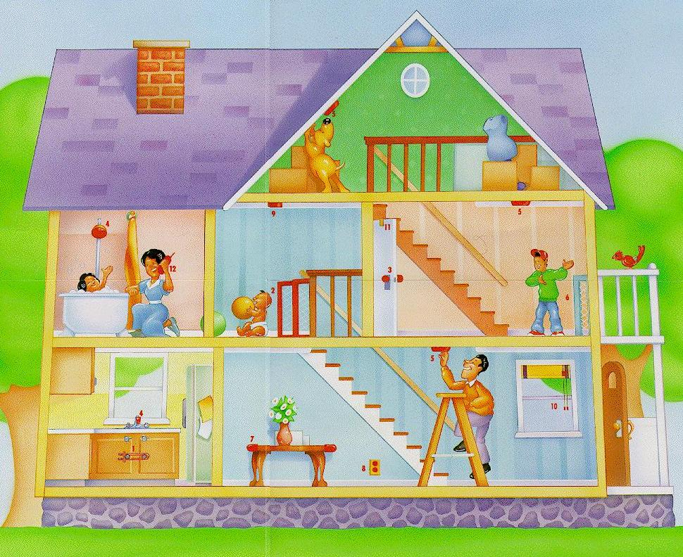 Fundaci n integrar una casa a prueba de riesgos infantiles - Seguridad en tu casa ...