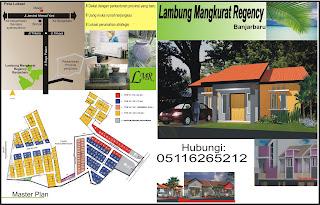 Brosur perumahan Banjarbaru bagian muka