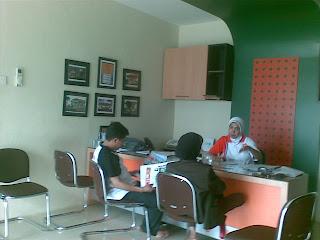 Kantor Perumahan Banjarbaru dari Dalam