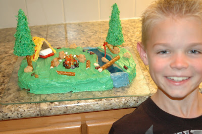 Caiden s Blog: Cake Decorating Contest